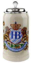 Hofbrauhaus Ceramic 1 Liter Stein