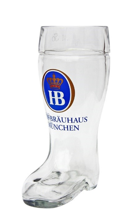 Hofbrauhaus Design Beer Boot Mug