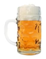 Personalized Dimpled Oktoberfest Beer Mug