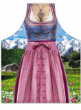 Bavarian Dirndl Female Beer Apron