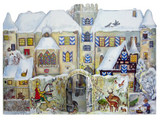 3D Bavarian Knight Village German Advent Calendar