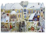 3D Bavarian Knight Village German Advent Calendar