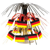 "Cascading German Flag Centerpiece 7.5"" tall"