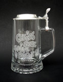 Cheers! Glass Beer Stein