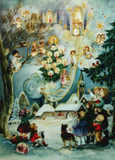 Christmas Angel German Advent Calendar