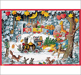 Christmas Train German Advent Calendar