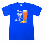 Das Boot T shirt Blue