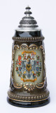 Deutschland (Germany) Coat of Arms Beer Stein