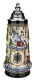 German Castles Beer Stein