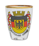 Germany Flag Shot Glass