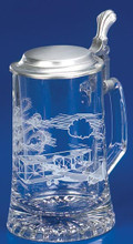 Authentic Personalized German Beer Glass