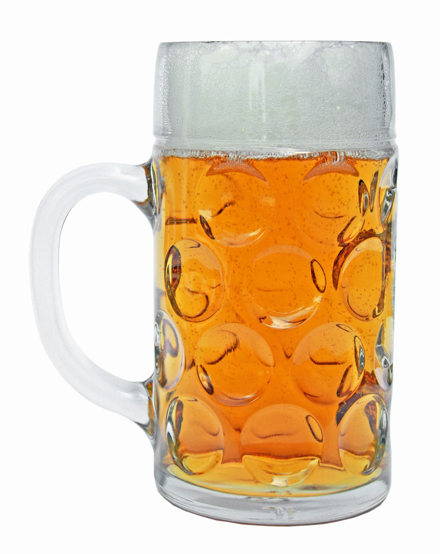custom engraved dimpled oktoberfest glass beer mug 1 liter. Black Bedroom Furniture Sets. Home Design Ideas