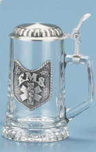 Glass E.M.S. Beer Stein