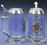 Scotland Glass Beer Stein