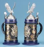 American Eagle History Beer Stein