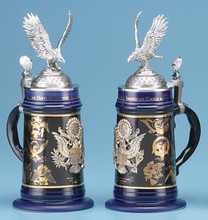 American Eagle History Beer Stein Germansteins Com