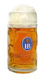Hofbrauhaus HB 0.5 Liter Glass Beer Mug
