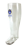 Hofbrauhaus HB Glass Beer Boot 2 Liter