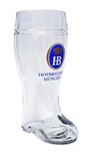 Hofbrauhaus 1 Liter Glass Beer Boot