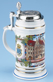 Hofbrauhaus HB Porcelain Beer Stein 1st Edition