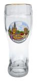 Kaiserslautern Glass Beer Boot 1 Liter