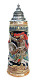 King Limitaet 2011 | King Barbarossa Handpainted Beer Stein
