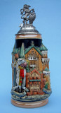 Neuschwanstein and King Ludwig Castle Beer Stein