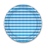Oktoberfest Bavarian Flag Party Plate 8pk
