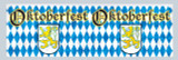 Oktoberfest Metallic Fringe Party Banner