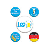 Oktoberfest Party Buttons 5 Pack