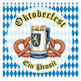 Oktoberfest Party Napkins 16pk