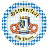 Oktoberfest Party 9in Plate 8pk
