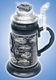 German Tank History Beer Stein
