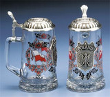 Poland Glass Beer Stein