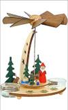 Santa German Wooden Pyramid