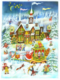 Santa's Carriage Ride German Advent Calendar