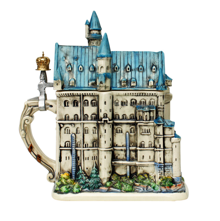 Neuschwanstein Castle 3d Beer Stein Germansteins Com