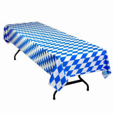 Oktoberfest Party Plastic Table Cover, Large