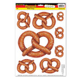 Pretzel Peel and Stick Wall Window Clings