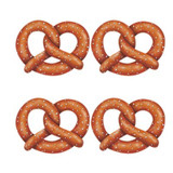Pretzel Sign Cutout Party Decoration 4 pack