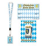 Oktoberfest Biergarten Party Pass