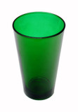 Green Pint Beer Glass