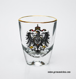 Deuschland Eagle Crest Shot Glass