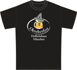 Oktoberfest Hofbrauhaus Mug and Hat T-Shirt