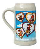 Munich Oktoberfest 1960s Compilation Beer Mug