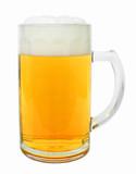 Glueckauf Glass Beer Mug 0.5 Liter