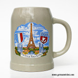 Paris -  Eiffel Tower Stoneware Beer Mug