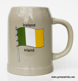 Ireland Flag Stoneware Beer Mug