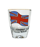 England Great Britain Shot Glass