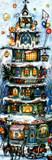 Christmas House 1959 Reproduction German Advent Calendar